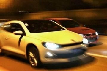 10人趁武汉禁行参加夜间飙车被捕获